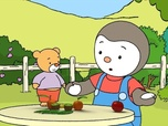 Replay A table T'choupi ! - S1 E16 : Le bonhomme aux grands yeux