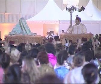 Replay Dans les coulisses de ... - Mariage Royal au Maroc