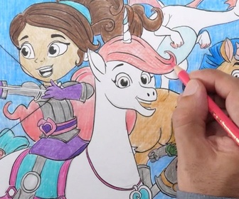 1, 2, 3, coloriage... ! replay