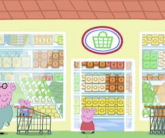 Replay Peppa Pig - S1 E49 : Le supermarché