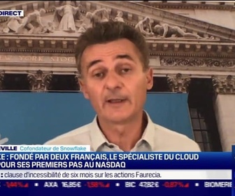 Replay Good Morning Business - Benoît Dageville (Snowflake) : Snowflake, spécialiste du Cloud américain - 18/09