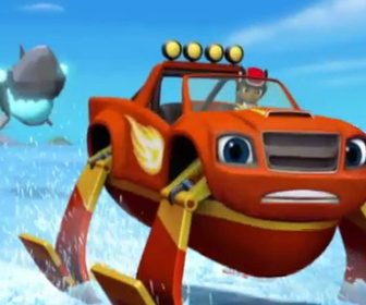 Replay Blaze et les Monster Machines - Le robot requin