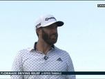 Replay Golf - Dustin Johnson un peu en dedans : Driving Relief