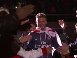 Replay Le discours d'adieu de David Beckham au PSG : Retro - Football