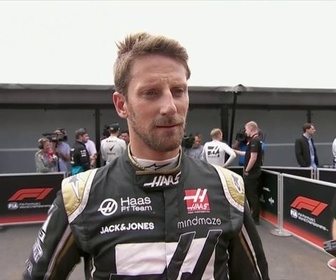 Replay Formule 1 - La réaction sans langue de bois de Romain Grosjean