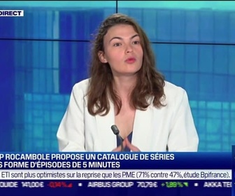 Replay Good Morning Business - La pépite: La start-up Rocambole propose un cataloge de séries à lire sous forme d'épisodes de 5 minutes par Lorraine Goumot -17/09