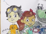 Replay 1, 2, 3... Coloriage ! | Rusty Rivets : inventeur en herbe | Tous ensemble | Episode entier
