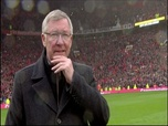 Replay Football - Old Trafford acclame Sir Alex Ferguson pour son dernier match à domicile : Archive CANAL+