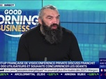 Replay Good Morning Business - Sébastien Chabal (Private Discuss) : Private Discuss franchit les 100 000 utilisateurs - 13/01