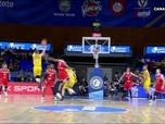 Replay Basket Ball - Le superbe 3 points au buzzer de Marcelinho Huertas ! : Basketball Champions League - Tenerife / Ostende
