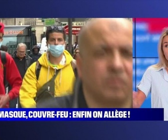 Replay BFM story - Story 1 : Masque, couvre-feu, enfin on allège ! - 16/06