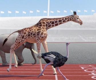 Replay Athleticus - 100 mètres d'athlétisme