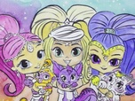 Replay 1, 2, 3... Coloriage !   Shimmer & Shine   Génies et compagnie   Episode entier